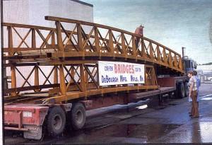 DeBourgh Cor-ten Bridge