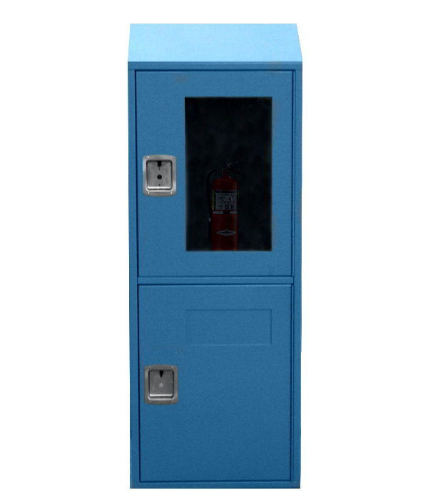 Fire and Waste Locker