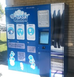 Service Delivery Laundry Locker