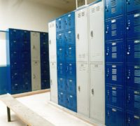A Brief History of Hallway Locker Latching