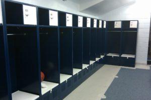 Team Room Lockers