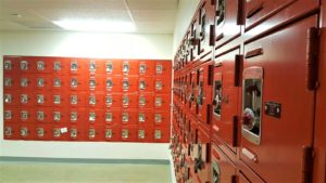 DeBourgh Locker Installation Photo