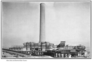 Anaconda Copper Mine Smokestack (Montana 1920)