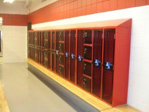 PE Room Lockers