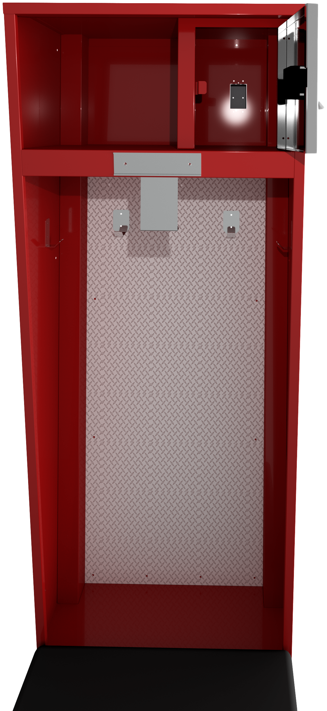 27x24x86-1 Col Front-Door Open render